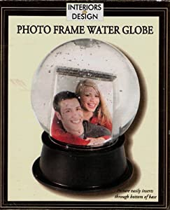 Photo Frame Water Globe