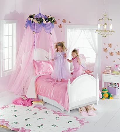 Beautiful Bed Canopy For Girls Pretty Bed Curtain Veils