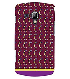 PrintDhaba C Pattern D-1828 Back Case Cover for SAMSUNG GALAXY S DUOS 2 S7582 (Multi-Coloured)