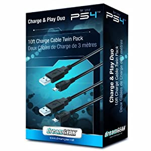 dreamGEAR PlayStation 4 Charge and Play Duo