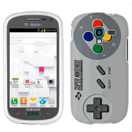 Samsung Galaxy Exhibit Sfc Old Video Game Controller Phone Case Cover