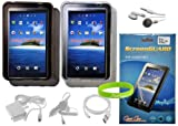 CrazyOnDigital 8 Item Accessory Bundle for Samsung Galaxy Tab P1000 Tablet