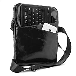Universal Crossbody Bag / Messenger Bag for All iPads and Tablets Upto 10.1-Inch (Black)
