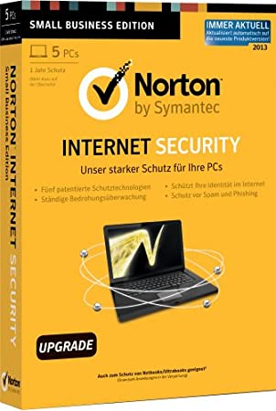 Norton Internet Security 2013 - 5PCs - Upgrade