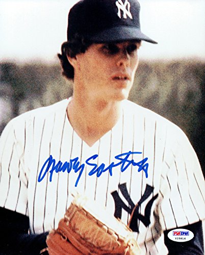Rawly Eastwick Autographed 8x10 Photo New York Yankees PSA/DNA #Y25816