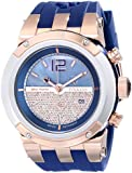 MULCO Unisex MW5-1621-043 Analog Display Swiss Quartz Blue Watch