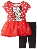 Disney Baby Girls' 2 Piece Minnie Oh My Pullover and Pant Set