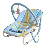[Golden Tulip®]Baby Cradle Bungee Bouncer Rocker chair Children Seesaw Swings for 0-6 months Blue 150003