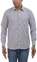 Major Sab Men's Casual Shirt MS944L9_Grey_XXL