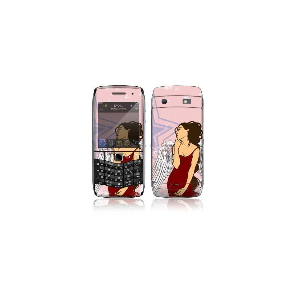 Rock Star Decorative Skin Cover Decal Sticker for BlackBerry Pearl 3G 9100 9105 Cell Phone