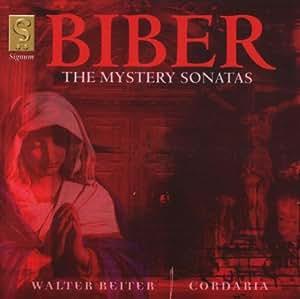 Biber: The Mystery Sonatas /Reiter · Cordaria