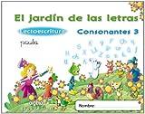 El jard�n de las letras. Consonantes 3. Educaci�n infantil. (Educaci�n Infantil Algaida. Lectoescritura)