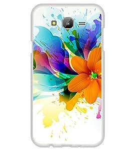 Beautiful Flower Pattern 2D Hard Polycarbonate Designer Back Case Cover for Samsung Galaxy J7 J700F (2015 OLD MODEL) :: Samsung Galaxy J7 Duos :: Samsung Galaxy J7 J700M J700H