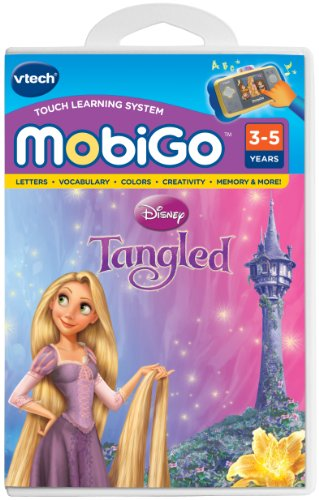 VTech - MobiGo Software - Disney's Tangled (Mobigo compare prices)