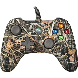 POWER A Mini Pro EX Wired Controller for Xbox 360 - RealTree Camouflage