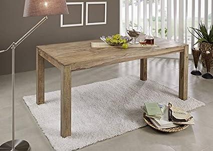 Table à manger 235x100cm - Bois massif de palissandre huilé - BUDDHA #106