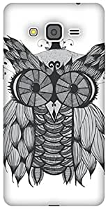 The Racoon Lean Owl hard plastic printed back case / cover for Samsung Galaxy Grand Prime