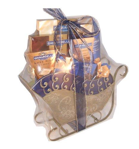 Ghirardelli Gourmet Christmas Holiday Hanukkah Thanksgiving Gift Basket