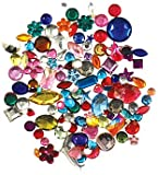 Forever In Time Gemstone Embellishments, Assorted Shapes, Colors and Sizes, 30gm