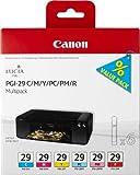 Canon PGI29 Ink Cartridge Multi Pack - Cyan/ Magenta/ Yellow/ Photo Cyan/ Photo Magenta/ Red