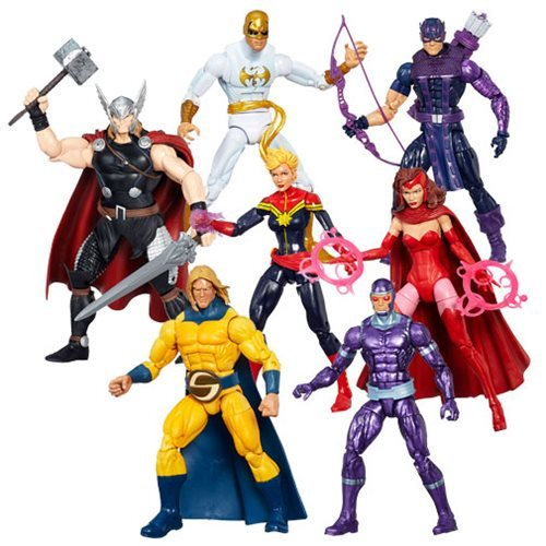 Avengers Marvel Legends Infinite Action Figures Wave 1 Case by Hasbro