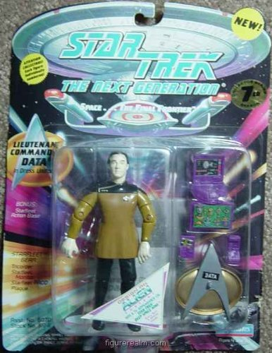Star Trek The Next Generation 7th Season Lt. Commander Data in Dress Uniform - 1