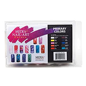 Buy Medea 10 Primary Colors Basic Nail Paint Medea Nail