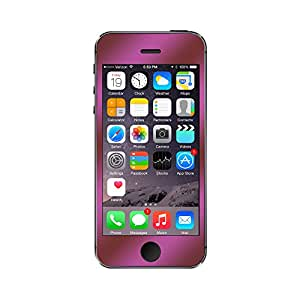 PerfectFit Tempered Glass Screen Protector for Apple iPhone 5, 5s and 5c - Ruby Red GlassShield