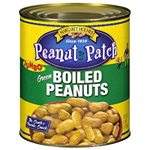 ... Green Boiled Peanuts, 6lb Can : Snack Peanuts : Grocery & Gourmet Food