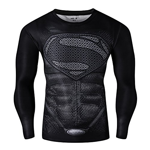 mens-compression-long-sleeve-running-fitness-workout-base-layer-shirt-m-superman2
