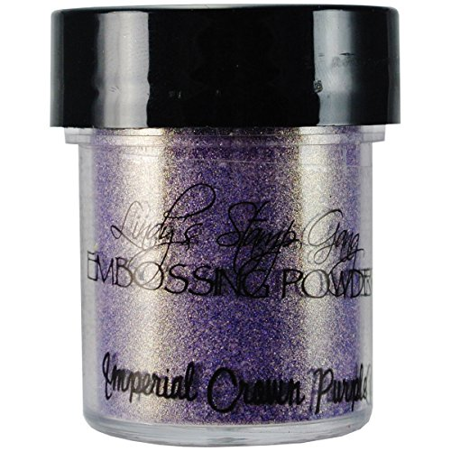 Lindy's Stamp Gang 2-Tone Embossing Powder .5oz-Imperial Crown Purple Gold