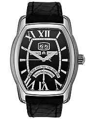 Maurice Lacroix Men's MP6119-SS00131E Les Classiques Black Day Date Dial Watch