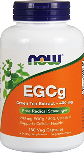 NOW Foods EGCg, Green Tea Extract,  400mg, 180 Vcaps (Green Tea Extract Capsules compare prices)