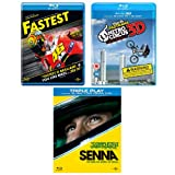 Senna/ Fastest/ Nitro Circus: The Movie (Exclusive to Amazon.co.uk) [Blu-ray] [Region Free]