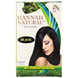 Hannah Natural 100% Chemical Free Hair Dye Black 100 Gram