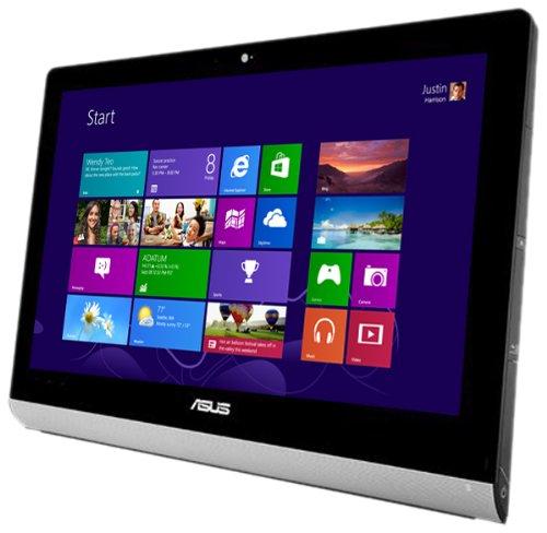 Asus ET2220IUTI-B010K 21.5-inch All-In-One Desktop PC (Intel Core i3-3220 3.3GHz, 6GB RAM, 1TB HDD, DVD-RW, Wi-Fi, TV Tuner, USB 3.0, HDMI, Card Reader, Webcam, Slim and Space-Saving Design, Windows 8)