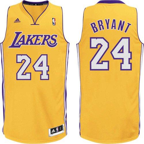NBA Los Angeles Lakers Kobe Bryant Revolution 30 Home Swingman Jersey H Size