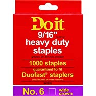 Do it Best Global Sourcing 347618 Do it No. 6 Staples-9/16