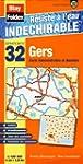 Gers (32). Carte D�partementale Admin...