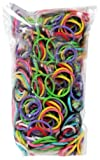 Twistz Bands LOOSE Rainbow Loom Pack of 600 MULTI -COLOR Rubber Bands, no C-Clips