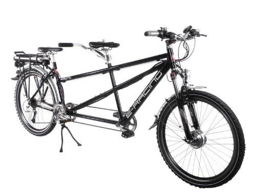 26&quot; Schachner Pedelec E-Bike Tandem Shimano Deore 24 G. LockOut Nabendynamo