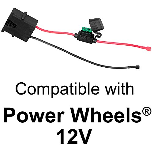 Wire Harness Connector for Fisher-Price® Power Wheels® 12-Volt SLA Battery (Power Wheel For 5 Year Old compare prices)