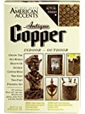 Rust-Oleum 202732 2-Part Decorative Finishes Half Pint and Spray Kit, Antique Copper