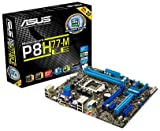 Asus P8H77-M LE Motherboard (Socket 1155, 32GB DDR3 Support, Intel H77 Express, uATX, PCI-E 3.0, USB 3.0, Asus DIGI+ VRM, GPU Boost - Instant iGPU Level Up)