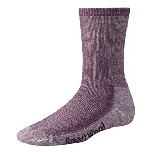 Smartwool Women's Hiking Medium Crew, Dark Cassis size S(shoe size 4-6.5)