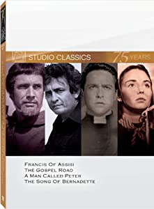 Classic Quad Set  (Francis of Assisi / The Gospel Road / A Man Called Peter / The Song of Bernadette)