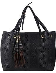 Thousand Things Womens Stylish Handbag - Black (003)