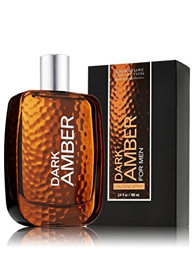 Dark Amber by Bath Body Works for Men 3.4 oz Cologne Spray (Amber Body Spray compare prices)