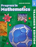 Progress in Mathematics, Grade 3 (Sadlier-Oxford Progress in Mathematics)