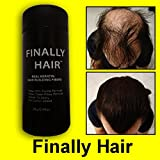 Finally Hair Keratin Hair Building Fibers for Hair Thickening Fiber Hair Loss Concealer. (Sandy Blonde)